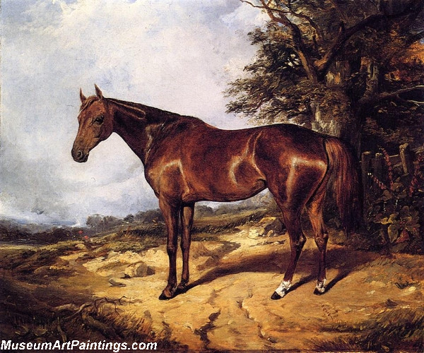 Famous Horse Paintings Thoroughbred