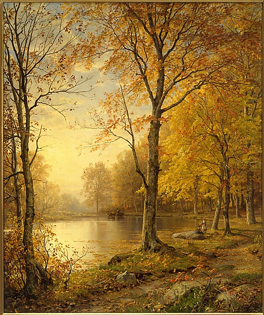Famous Landscape Paintings Indian Summer