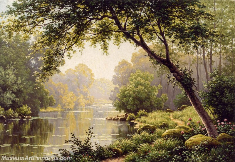 Famous Landscape Paintings MD01
