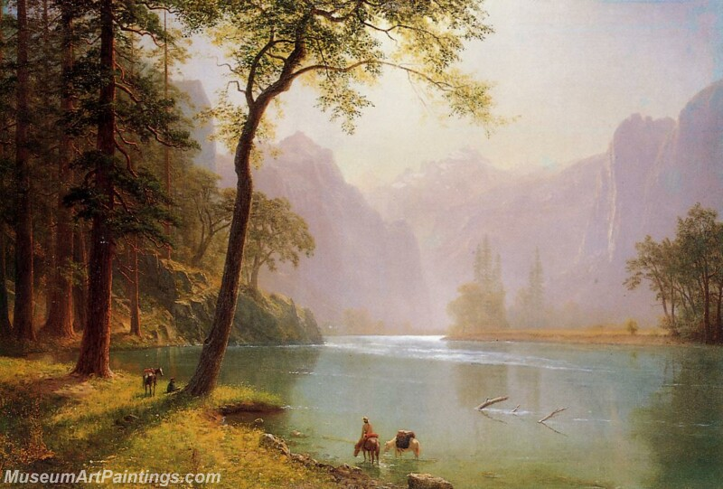 Famous Landscape Paintings MD011