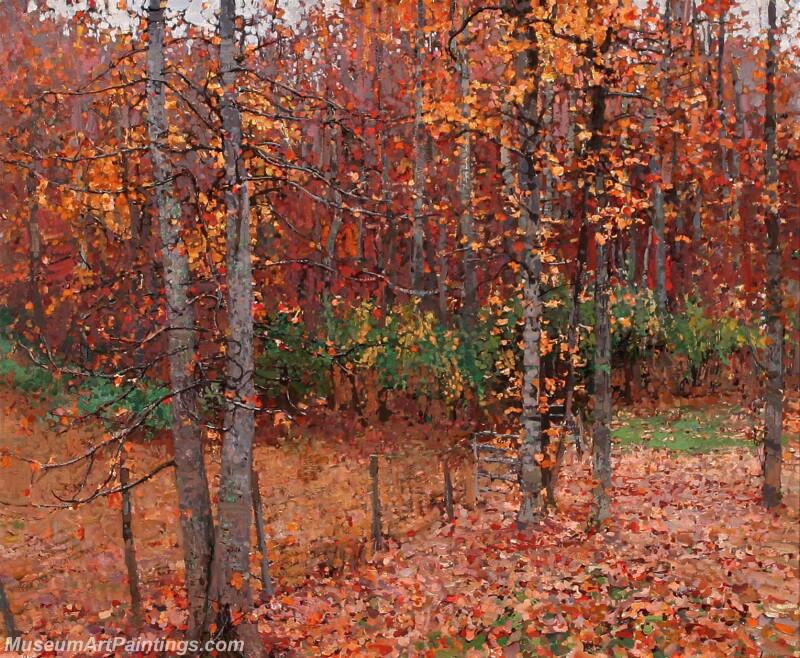 Famous Landscape Paintings MD012