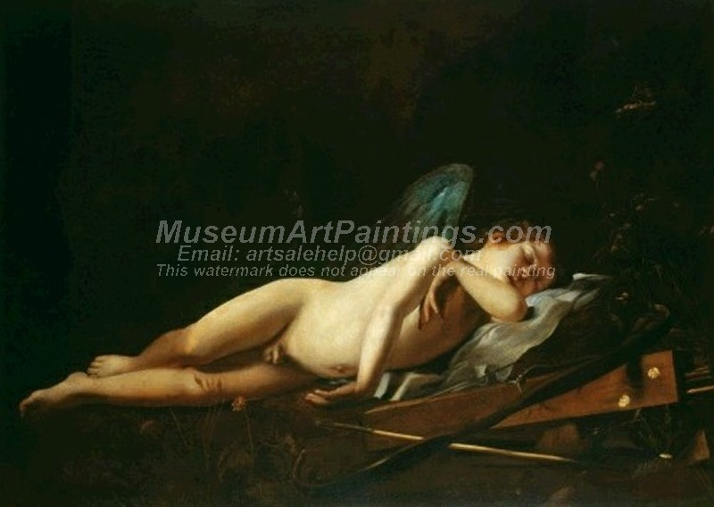 Famous Paintings Cupid Sleeping
