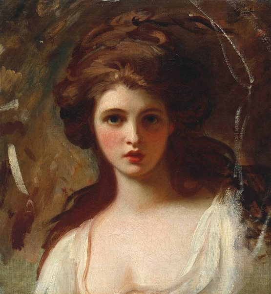 Famous Paintings Lady Hamilton as Circe
