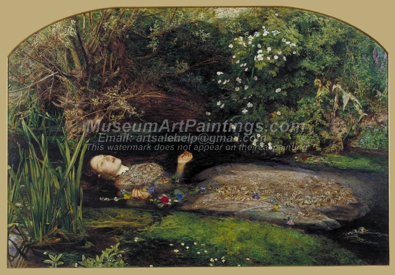 Famous Paintings Ophelia