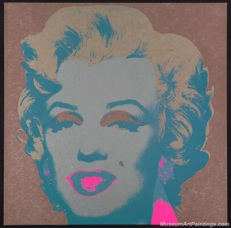 Famous Pop Art Paintings Marilyn Monroe by Andy Warhol PAP73