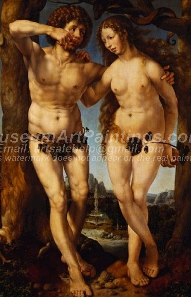 Famous Religious Paintings Adam and Eve