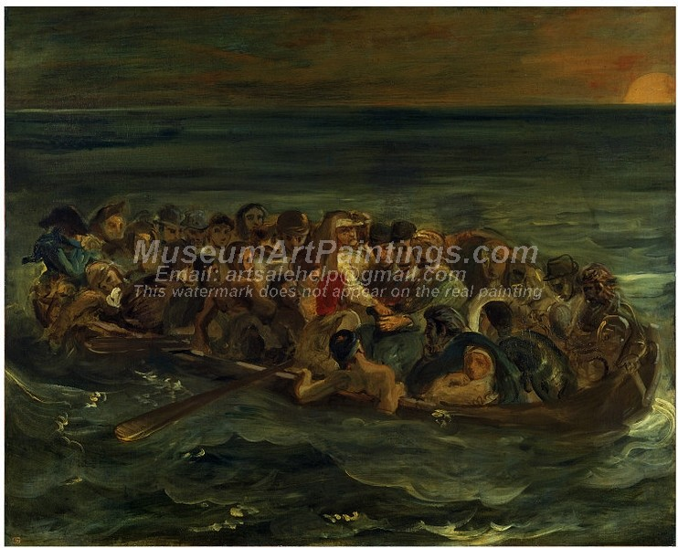 Famous Religious Paintings The Shipwreck of Don Juan