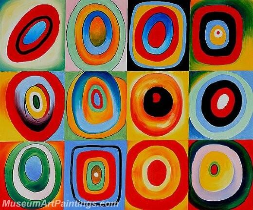 Farbstudie quadrate iii Painting