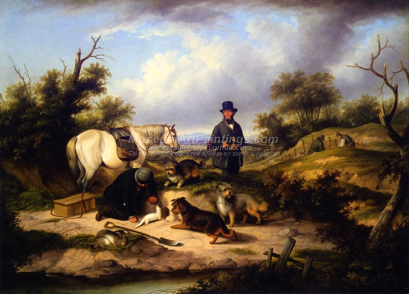 Ferreting by William Jones