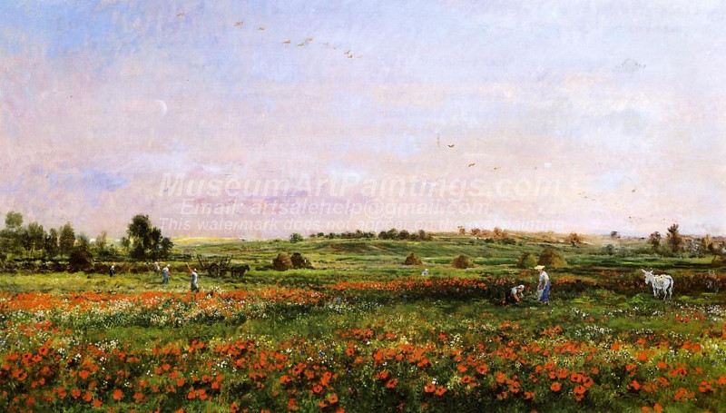 Fields in the Month of June by Charles Francois Daubigny