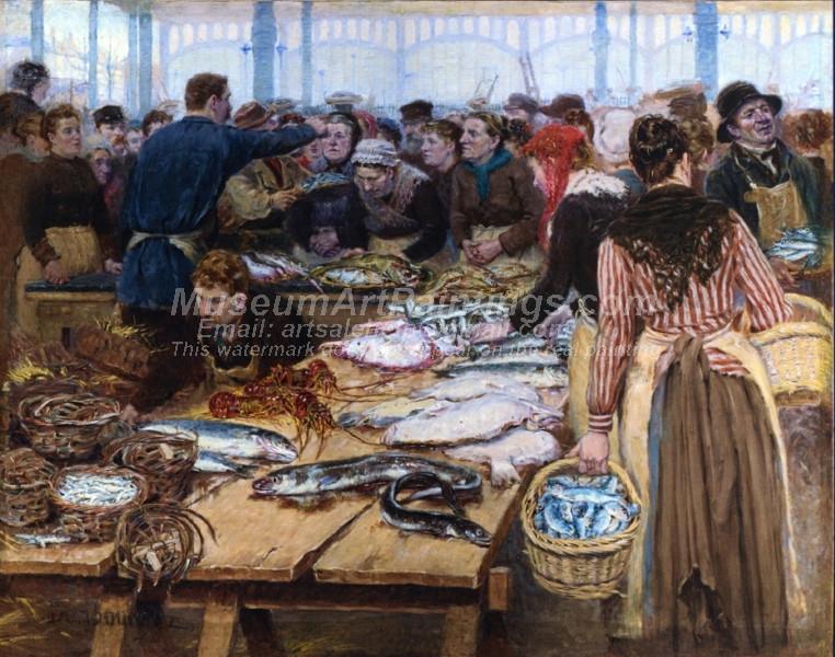 Fish Auction at Les Halles