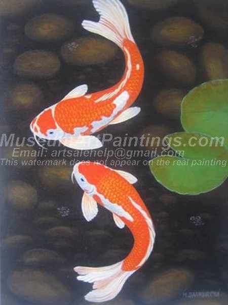 Fish Oil Paintings 001
