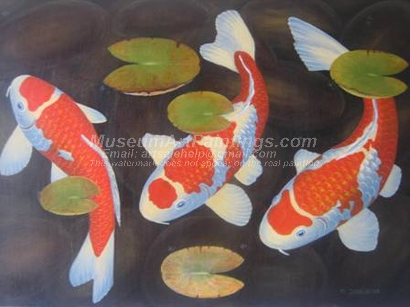 Fish Oil Paintings 002