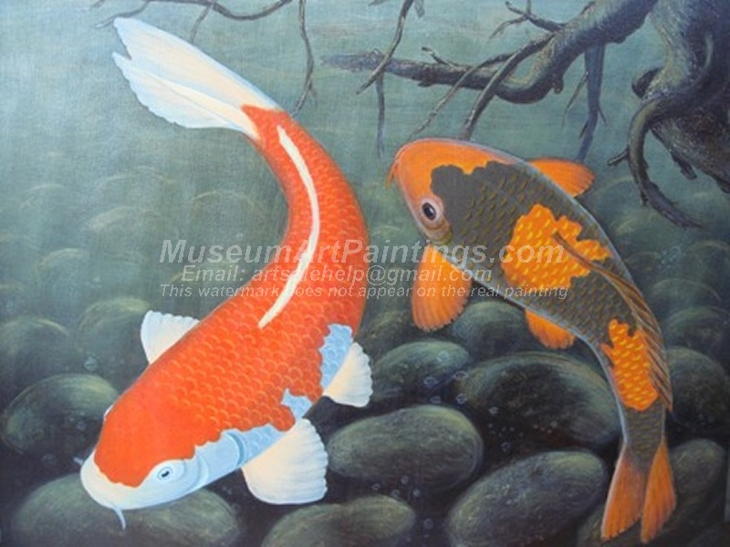 Fish Oil Paintings 004