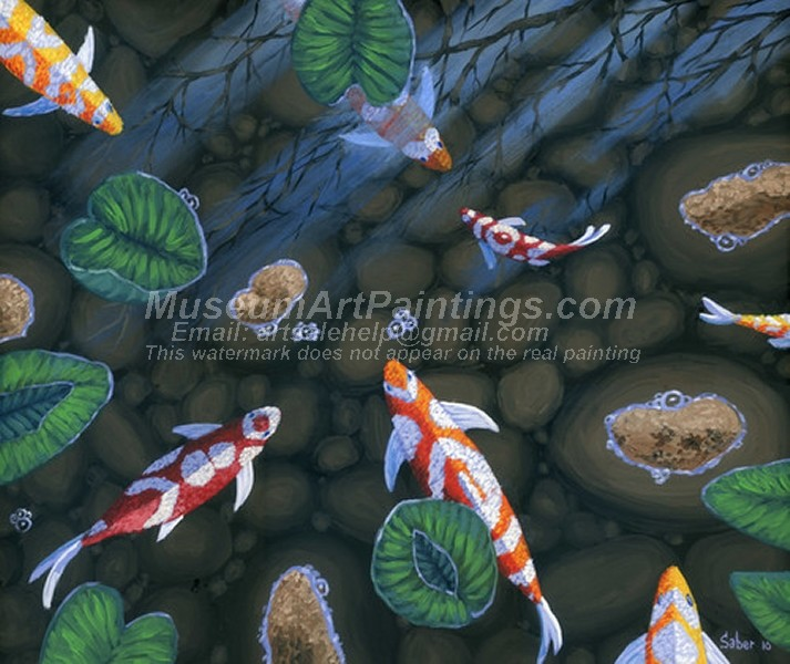 Fish Oil Paintings 005