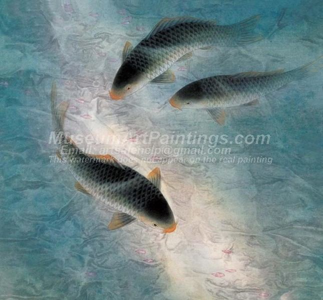 Fish Oil Paintings 007