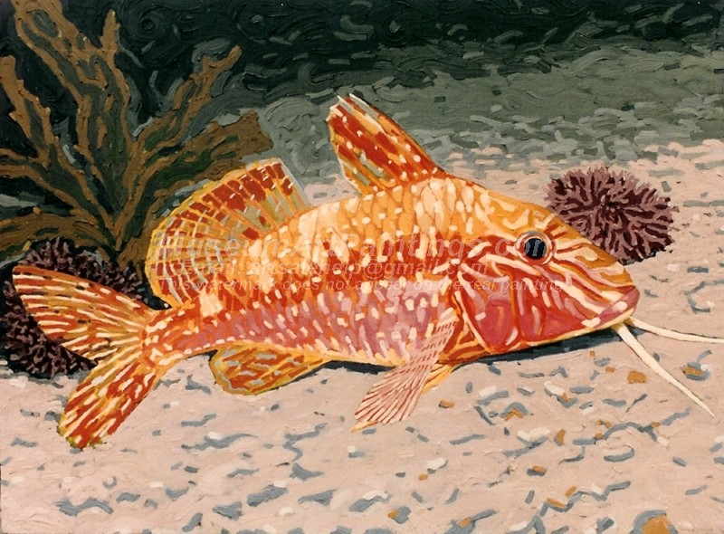 Fish Oil Paintings 009