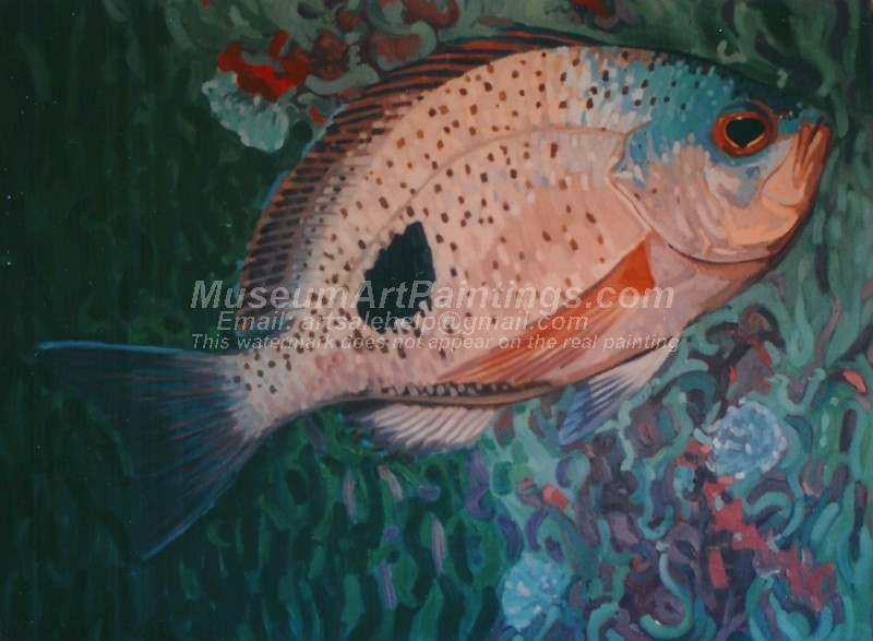 Fish Oil Paintings 010