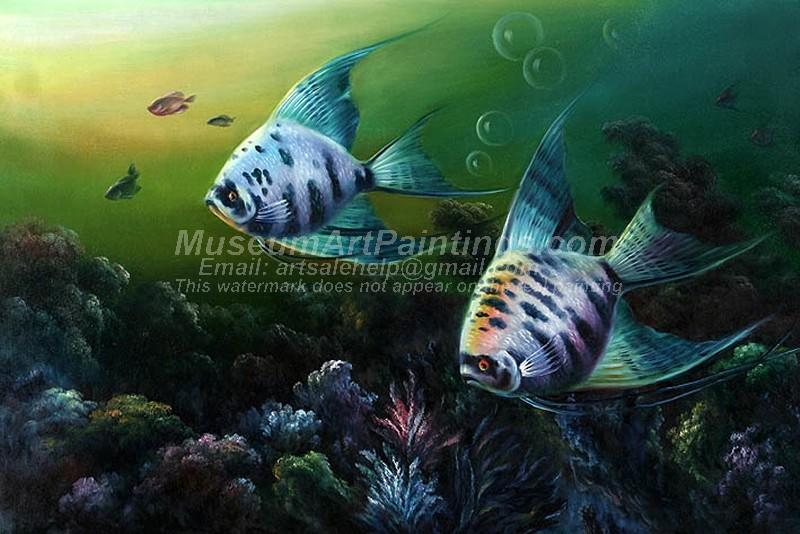 Fish Oil Paintings 011