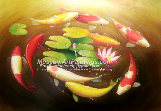 Fish Oil Paintings 016