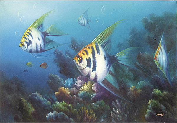 Fish Oil Paintings 020