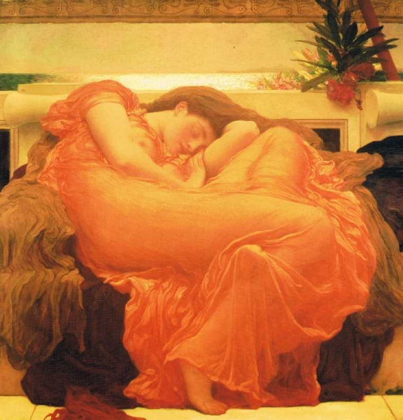 Flaming June by Sir Frederick Lord Leighton