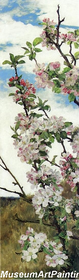 Flower Garden Paintings Apple Blossoms