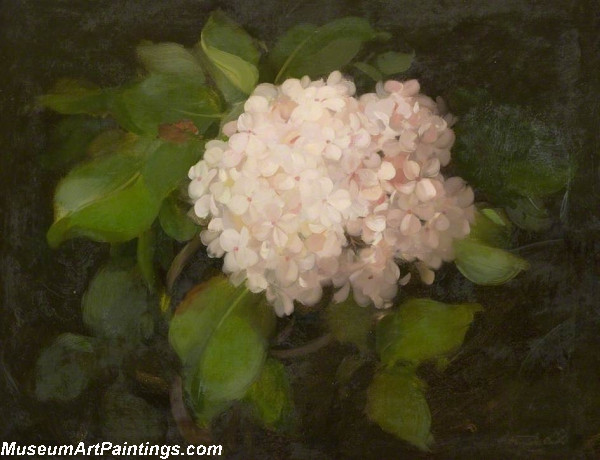 Flower Oil Painting Hydrangeas