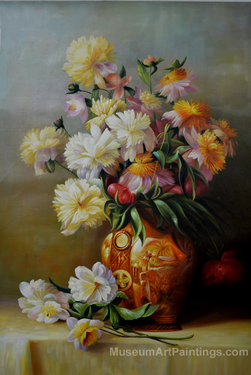Flower Oil Painting Peonies