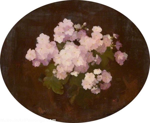 Flower Oil Painting Primulas