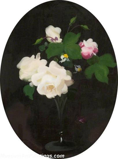 Flower Oil Painting Roses 3