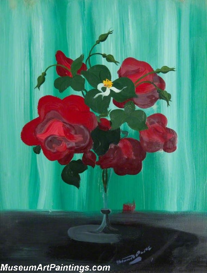 Flower Oil Painting Roses 4
