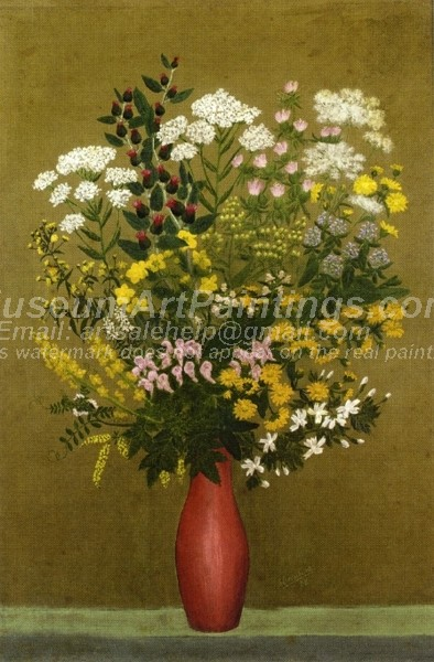 Flower Oil Paintings Vase of Flowers