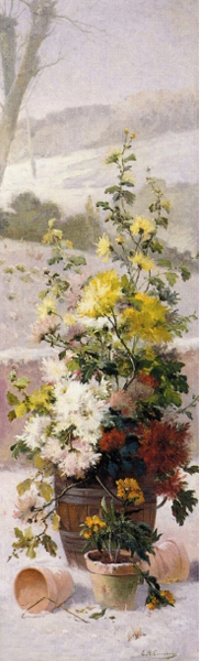 Flower Painting Winter