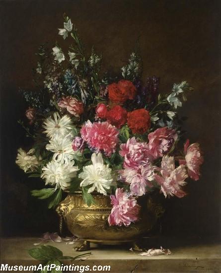 Flower Still Life Painting