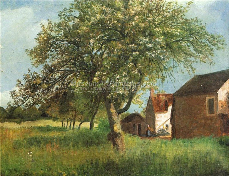 Flowering Tree in Cernay la Ville by Kitty Kielland
