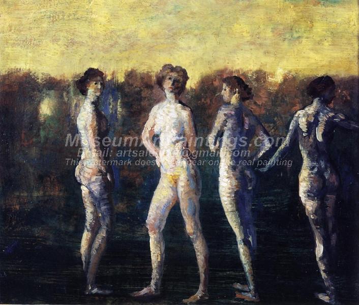 Four Figures Arthur B Davies