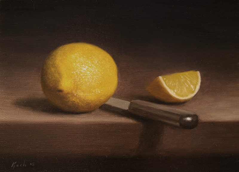 Fruit Oil Painting 04