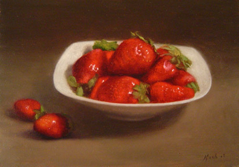 Fruit Oil Painting 09