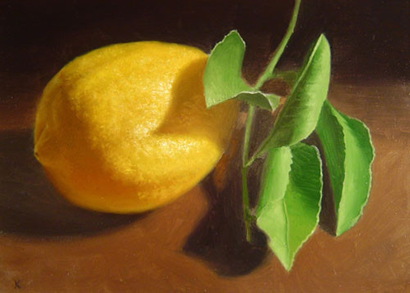 Fruit Oil Painting 19