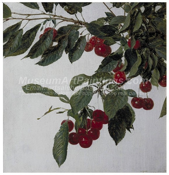 Fruit Paintings Cherries Fruits Morellos