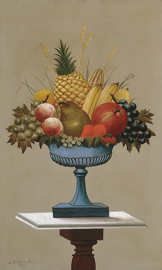 Fruit Paintings Fruit with Blue footed Bowl