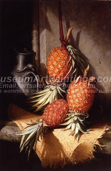 Fruit Paintings Pineapples