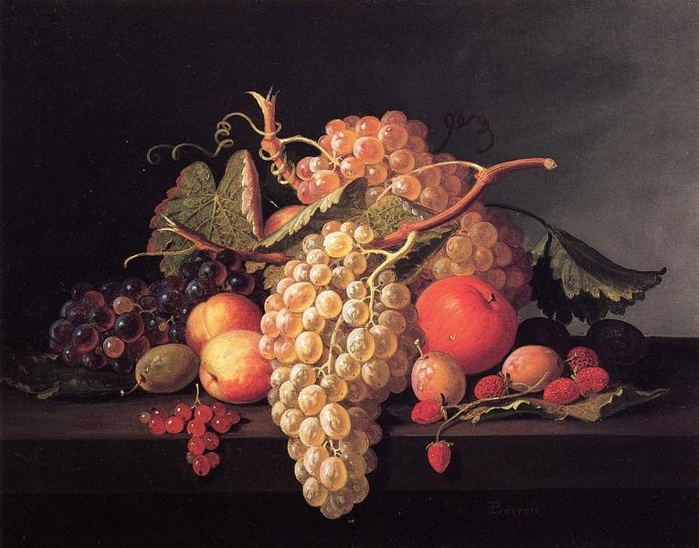 Fruit Still Life by Paul Lacroix