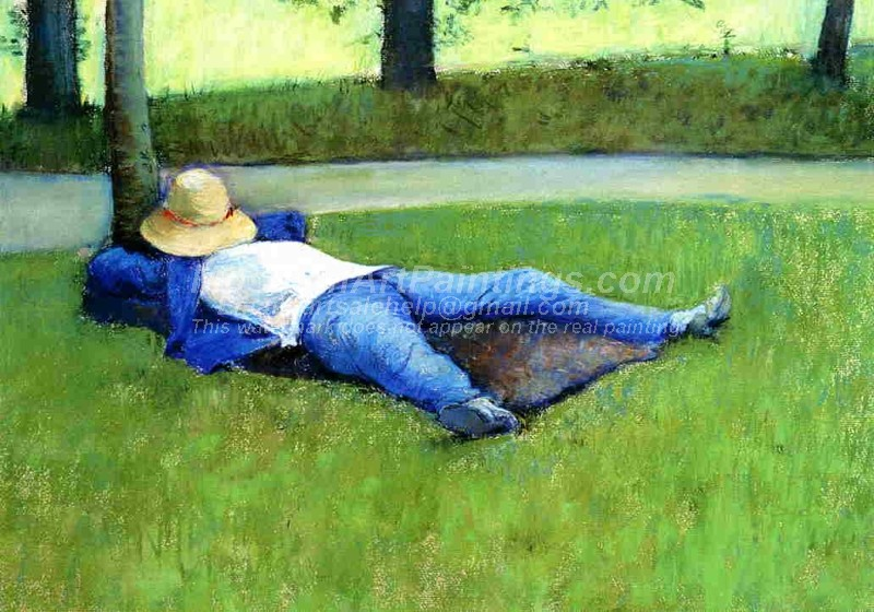 Garden Painting The Nap