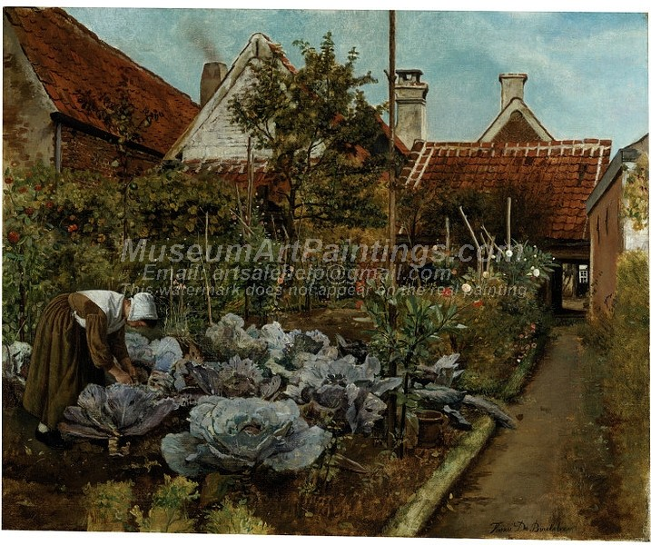 Garden Paintings A Flemish Kitchen Garden