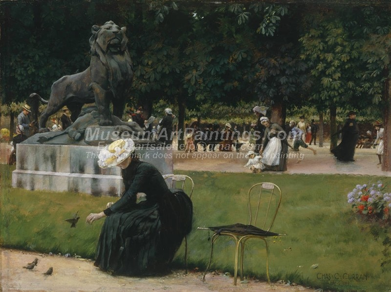 Garden Paintings In the Luxembourg Garden