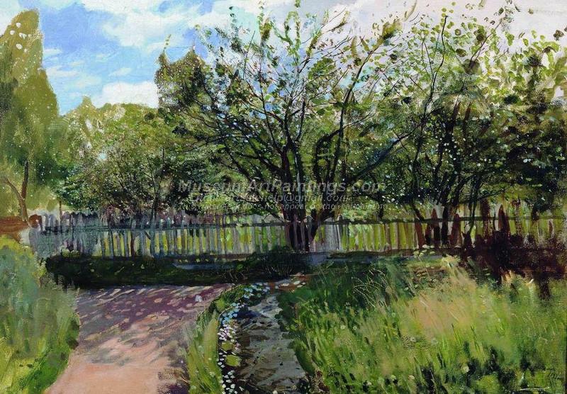 Garden by Konstantin Somov