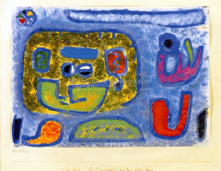 Gift mischerin aus dem Alten Reich by Paul Klee