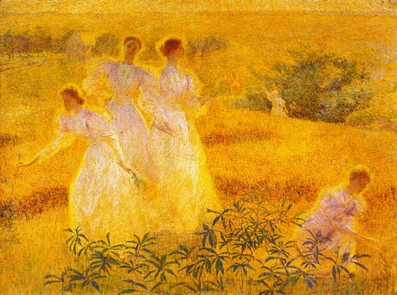 Girls in Sunlight by Phillip Leslie Hale